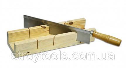 Стусло с пилой,деревянное,Technics,41-470,Киев