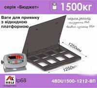 """Весы для приямка с откидной платформой 4BDU1500-1212ВП-Бюджет  """"Аксіс Україна"""""""