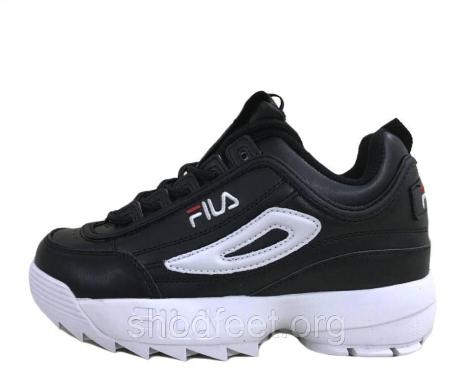 Жіночі кросівки Fila Disruptor II Black White