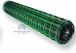 Сетка с ПВХ покрытием. Ячейка 50х100, рулон 10 м,высота 1,5м