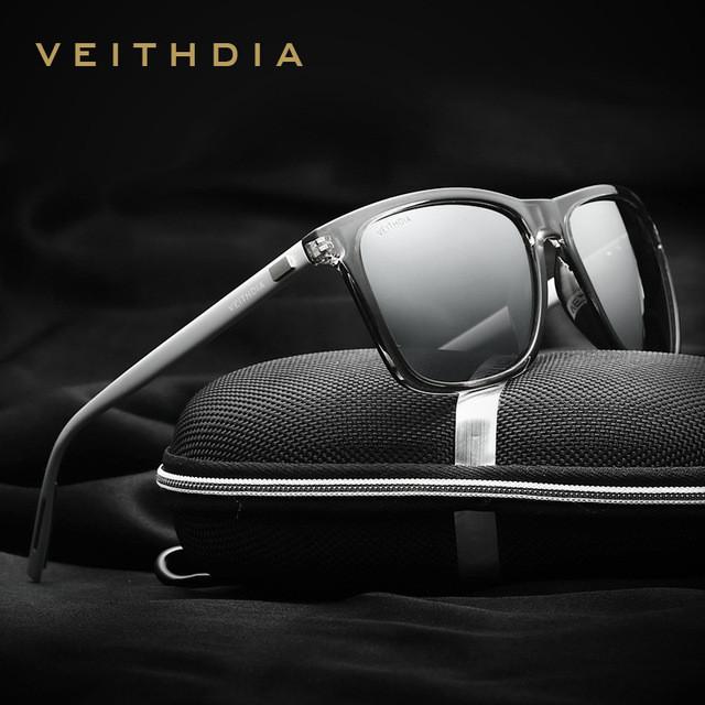 Очки Мужские Солнцезащитные Поляризованные VEITHDIA Aviator Persol ... 3d952a0ce38