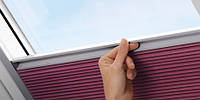 VELUX Енергозберігаюча штора-плісе