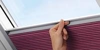 VELUX Енергозберігаюча штора-плісе, фото 1