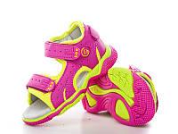 Обувь для девочек, детские босоножки ортопедические розовые Clibee (Румыния)18р. по стельке 11,5 см