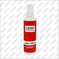 CANNI Nail Prep - обезжириватель, дегидраторс антибактериальным эффектом c распылителем, 220 мл