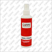Cредство для обезжиривания и дегидратациис антибактериальным эффектом CANNI Nail Prep с распылителем, 220 мл