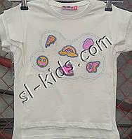 Футболка для девочки 2-8 лет (пр. Турция)