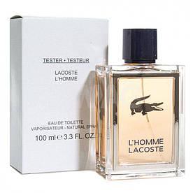 Тестер мужской Lacoste Pour Homme, 100 мл