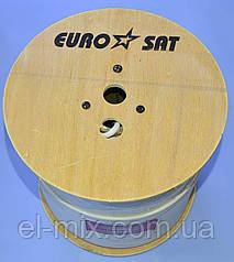 Кабель ВЧ 75-Ом EuroSat  F660BV белый  7-0118W  /бухта 305м