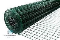 Сварная сетка с полимерным (ПВХ) покрытием для ограждений и заборов. Ячейка 50х50, рулон 10м,высота 2м, фото 1
