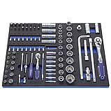 Візок 6 полиць з набором інструменту 230 предметів ANDRMAX, фото 3