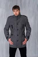 Мужское утепленное кашемировое пальто Босс