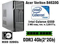 Acer Veriton S4620G \1155\ Intel Celeron G550\DDR3 4Gb\HDD 320Gb
