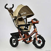 Велосипед трехколёсный Best Trike 6450 Шоколадно-Бежевый