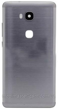 Задняя крышка Huawei Honor 5X (KIW-L21), Honor X5, GR5 серая, фото 2