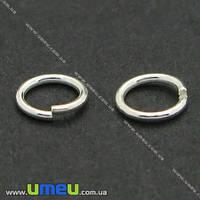 Соединительное колечко Серебро (925 проба), 5 мм, 1 шт. (SER-004403)
