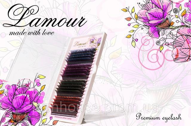Продукция TM Lamour для бровей и наращивания ресниц