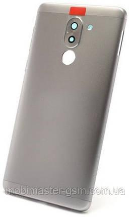 Задняя крышка Huawei Honor 6X (BLN-L21), Mate 9 Lite, GR5 (2017) серая, фото 2