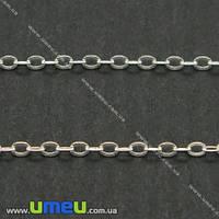 Цепь Серебро (925 проба), 2х1,6 мм, 10 см. (SER-004407)