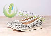 Кожаныеженские туфли Foletti 05-15 б-к ,37 размеры