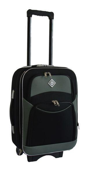 Дорожній валізу на колесах Bonro Style Чорно-сірий Невеликий
