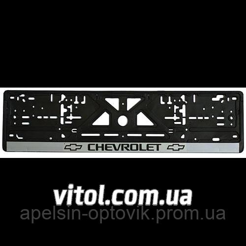 f2f224f9e39b Автомобильная рамка для номера пластик CHEVROLET Украина, автомобильная  рамка для номерного знака, рамка для