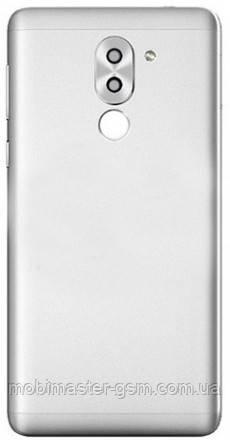 Задняя крышка Huawei Honor 6X (BLN-L21), Mate 9 Lite, GR5 (2017) серебристая