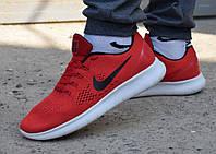 Кросівки чоловічі Nike Free Run червоні