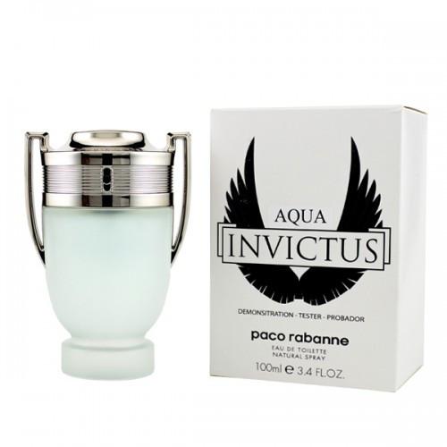 Tester мужской Paco Rabanne Invictus Aqua 100 мл