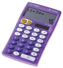 Калькулятор Citizen FC-100NBL школьный, 2стр. дисплей, фото 3