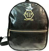 Дешевые рюкзаки P.Plein опт (черный)30*36