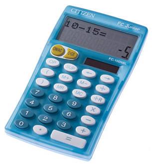 Калькулятор Citizen FC-100NRG школьный, фото 2