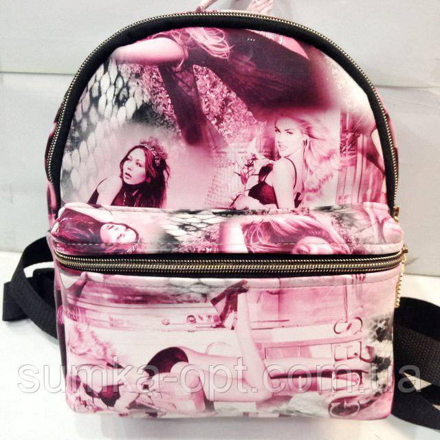 Дешевые рюкзаки опт (принт)20*25