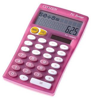 Калькулятор Citizen FC-100NPU школьный, фото 2