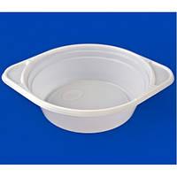 Тарелка пластиковая суповая 100шт/уп