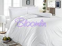 Ткань для постельного белья страйп сатин 240