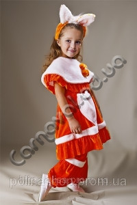 Карнавальний костюм Лисички з обручем