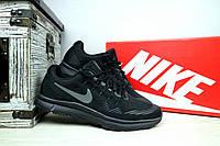 Мужские кроссовки Nike Zoom (черные), ТОП-реплика, фото 1