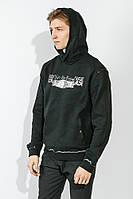 Батник мужской теплый, с капюшоном 778K003 (Черный)
