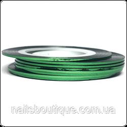 Скотч лента 1мм зеленая