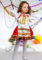 Карнавальный костюм Украинка цветная 116
