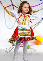 Карнавальный костюм Украинка цветная