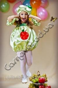 Карнавальний костюм Яблучко дівчинка