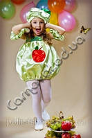Карнавальный костюм Яблочко девочка