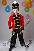 Карнавальный костюм Гусара  в чёрном