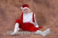 Карнавальный костюм Гнома в красном   104