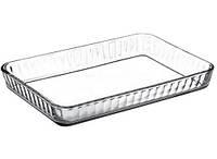 Форма для запекания 3,8 л (40 x 27 см) жаропрочное стекло Borcam 59204, фото 1