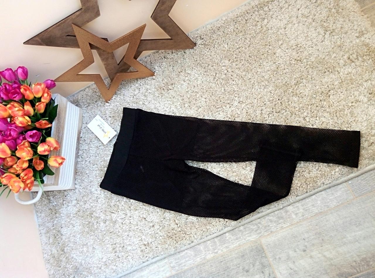 Лосины леггинсы в сеточку на девочку Оптом и в розницу Турция 6-16 лет  Little star