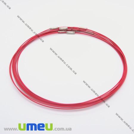 Основа для колье Чокер, Розовая, 44 см, 1 шт (OSN-003481) - Интернет-магазин УмеюВСЕ в Запорожье