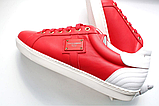 Кеды мужские красные Dolce Gabbana 41 42 43 44, фото 6